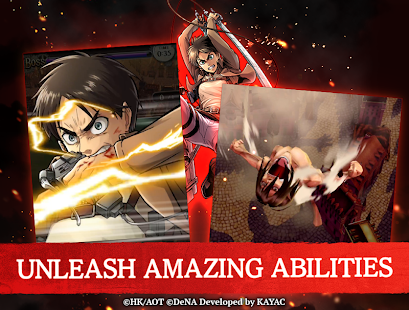 Mod Game Attack on Titan TACTICS for Android