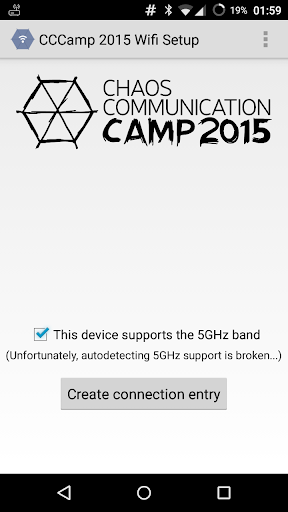 CCC Camp 2015 Wifi Setup