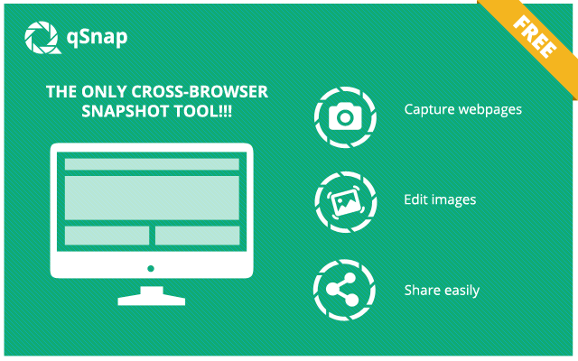 qSnap: Screen Capture, Screenshot, Annotation Screenshot