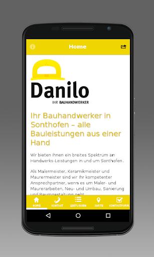 Danilo - Ihr Bauhandwerker