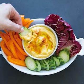 Vegan Paleo Creamy Cauliflower Hummus