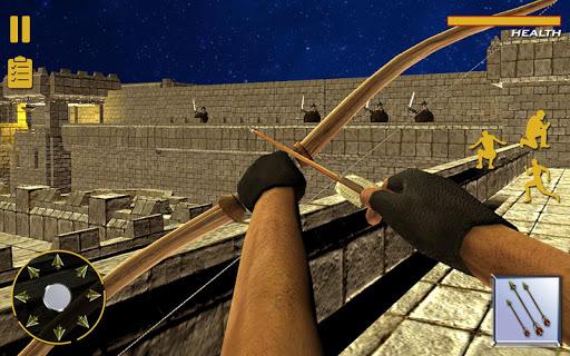 Bow Arrow Master: Castle War ( burgmauern )  screenshots 4