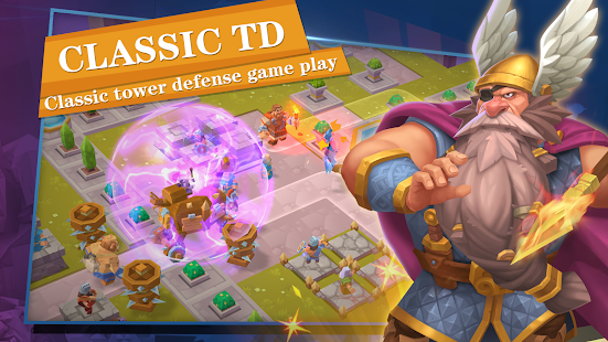 Gods TD: Myth defense Screenshot