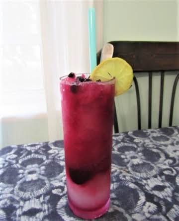 Seaside Lemonade-Blueberry Slushie