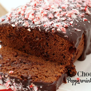 CHOCOLATE PEPPERMINT BREAD.