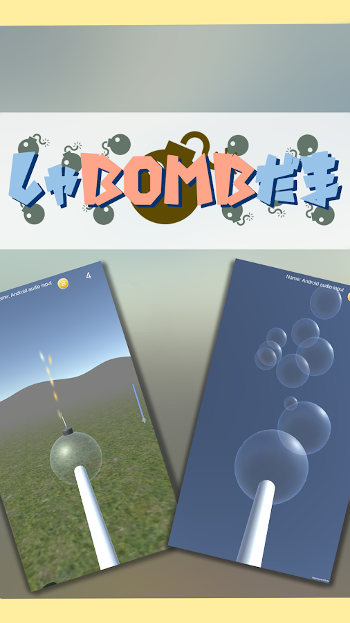 BubbleBomb - Bubbles & Bombs -- screenshot