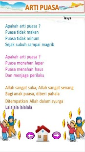 Lagu Anak Muslim Juzamma screenshot 7