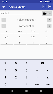 Linear Algebra Calculator Apk 4