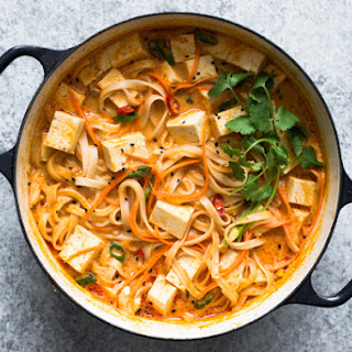 One-Pot Curry Noodles.