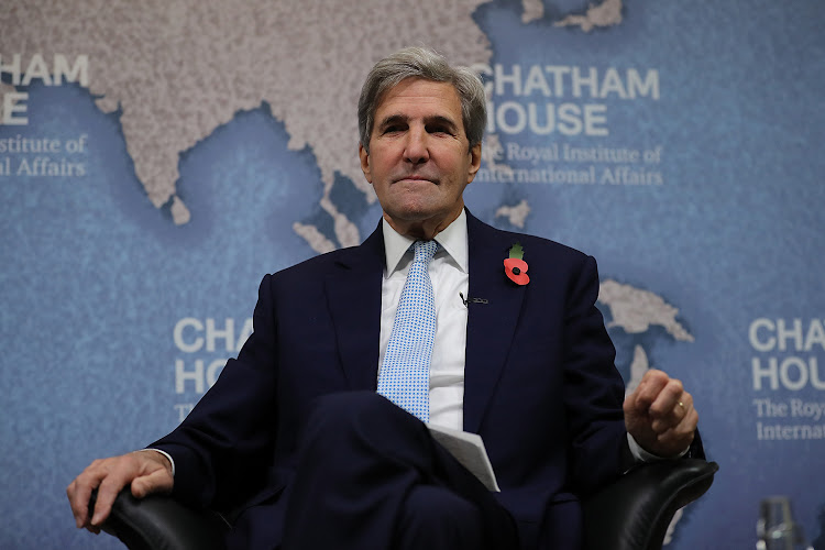 68th United States Secretary of State, John Kerry.