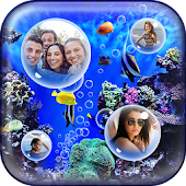 My Pic Aquarium Live Wallpaper
