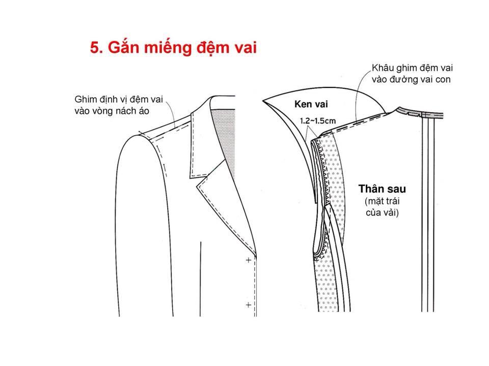 Bảng Size Thông Số Chuẩn Áo VEST NAM-NỮ Và Hướng Dẫn Cách Ráp Áo VEST 31