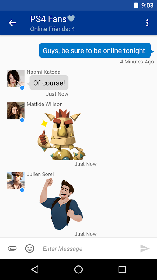 PlayStation Messages app for iOS & Android released | NeoGAF
