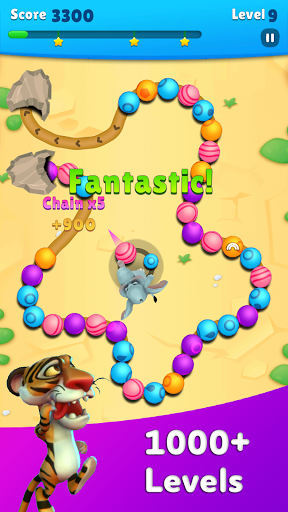 Marble Wild Friends - Shoot & Blast Marbles 1.14 screenshots 2