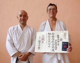 Photo: 1st Dan Aikido Aikikai - Dmitriy Gladkov