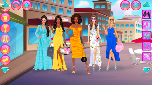 Girl Squad Fashion - BFF Fashionista Dress Up apkpoly screenshots 3