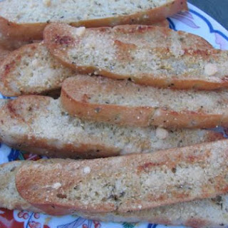 Parmesan Garlic & Herb Ciabatta Breadsticks