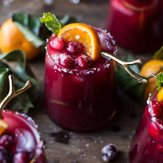 Cranberry Orange Margaritas..
