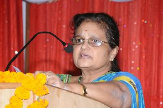 Photo: Prof. K. Raja Rajeswari - Director - Viswanadha Educational Institutions