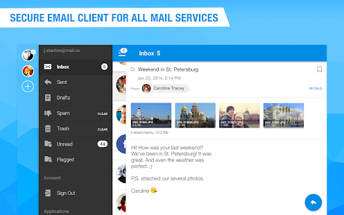 Mail.Ru for UA – Email for Hotmail, Outlook & i.ua