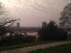 Photo: Views of Novi Beograd across the river.