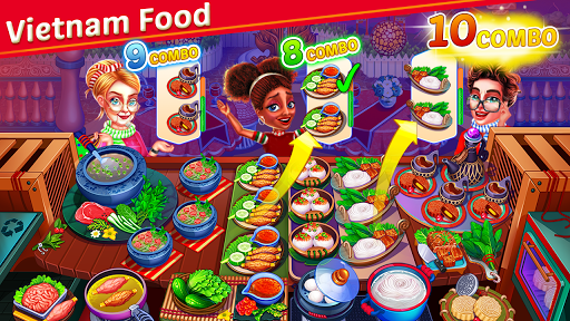 Crazy My Cafe Shop Star - Chef Cooking Games 2020 screenshots 12