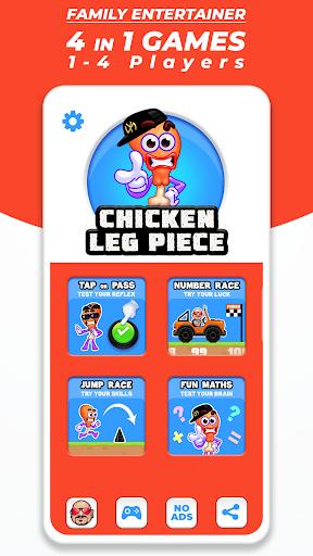 Chicken Leg Piece - Fun Race Multiplayer apktram screenshots 4