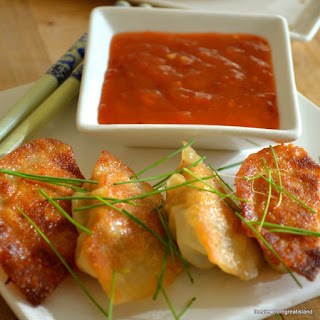 Chicken Gyoza (Pot Stickers).