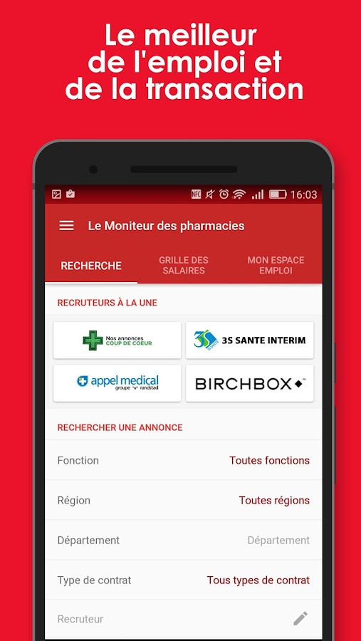 Le Moniteur des pharmacies- screenshot