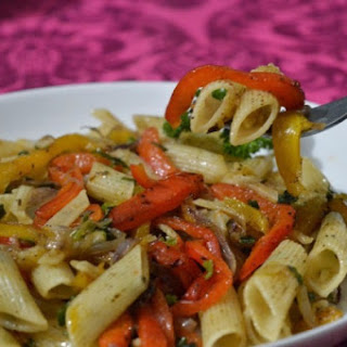 Roasted Green Pepper Pasta Recipes