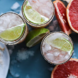 Pink Grapefruit Margaritas with Chili Salt Recipe