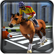 Traffic Horse Racing