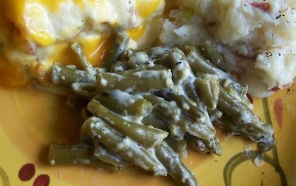 Creamy Green Beans - 1 Ww Point Recipe