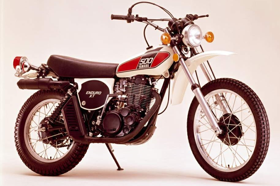 Yamaha TT 500 - Yamaha XT 500-manual-taller-despiece-mecanica