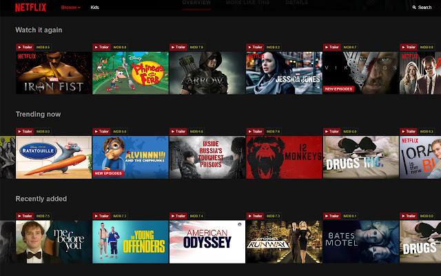 Get Netflix Trailers