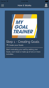 My Goal Trainer- screenshot thumbnail
