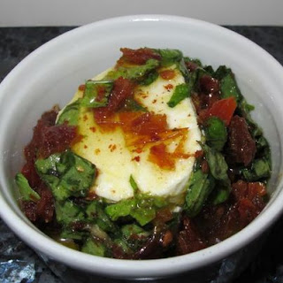 Basil, Sun-dried Tomatoes And Goat Cheese – Pure Joy In Olive Oil
