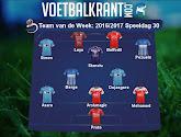AA Gent en Racing Genk zijn hofleverancier in het laatste Team van de Week van het reguliere seizoen