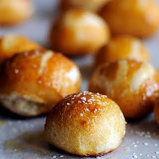 Homemade Pretzel Bites for the Bread Machine.