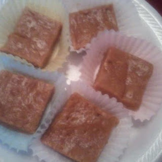 School Cafeteria Peanut Butter Squares
