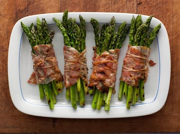 Bacon Wrapped Asparagus Bundles Recipe