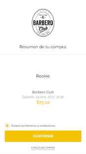 BarberoClub - náhled