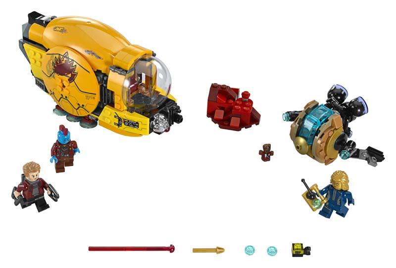 Contenido de Lego® 76080 Venganza de Ayesha