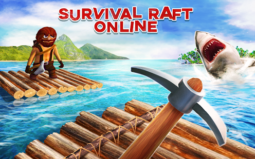Survival on Raft Online War PRO Screenshot