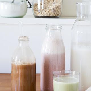 Almond Milk, Three Ways Recipe