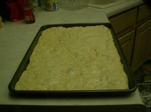 We bought our dough from costco and placed it on a cookie sheet. ...
