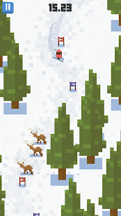 Skiing Yeti Mountain- screenshot thumbnail