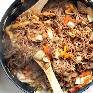 Yakisoba With Easy Homemade Seitan