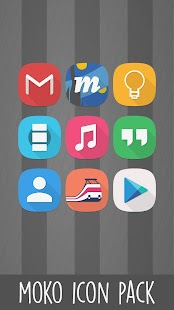 Moko - Icon Pack Screenshot