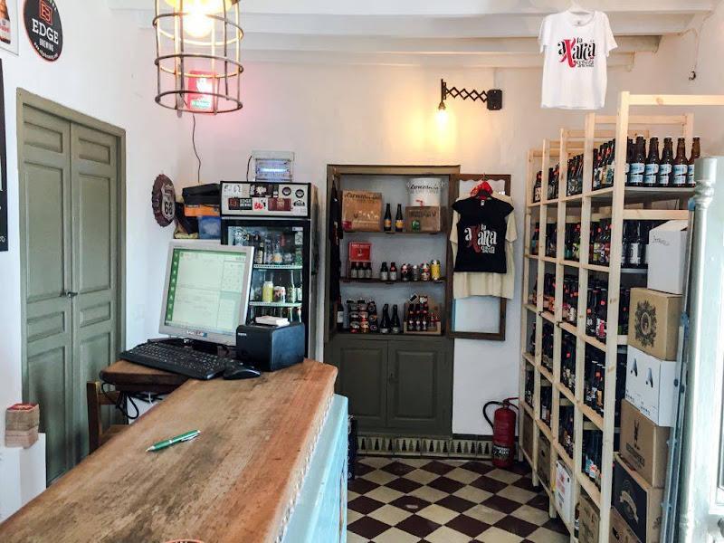 Bier pub en store